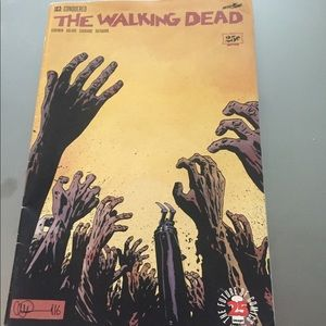 The Walking Dead Issue 163: Conjured. Signed